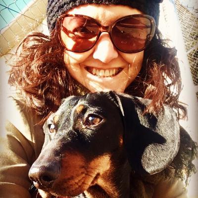 Perro con Lola